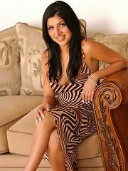 Jezebele looking hot in a classy dress
