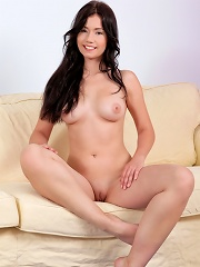 Nubiles.net Zara - Sexy Zara shows off her big boobs and fingers her tight pussy